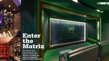 'Enter the Matrix' – Home Cinema & Hi-Fi Living Magazine
