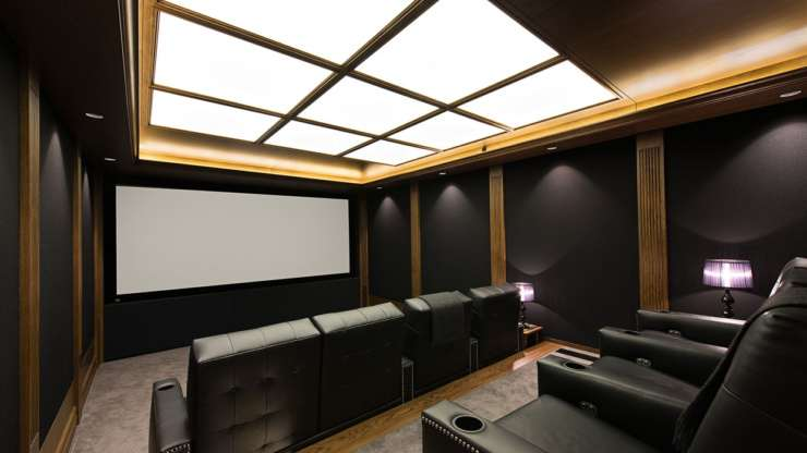 What is the perfect size for your home theatre room?