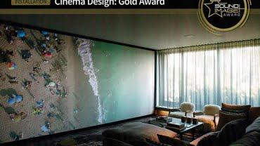 'Wonderwall Cinema' Wins Gold Award