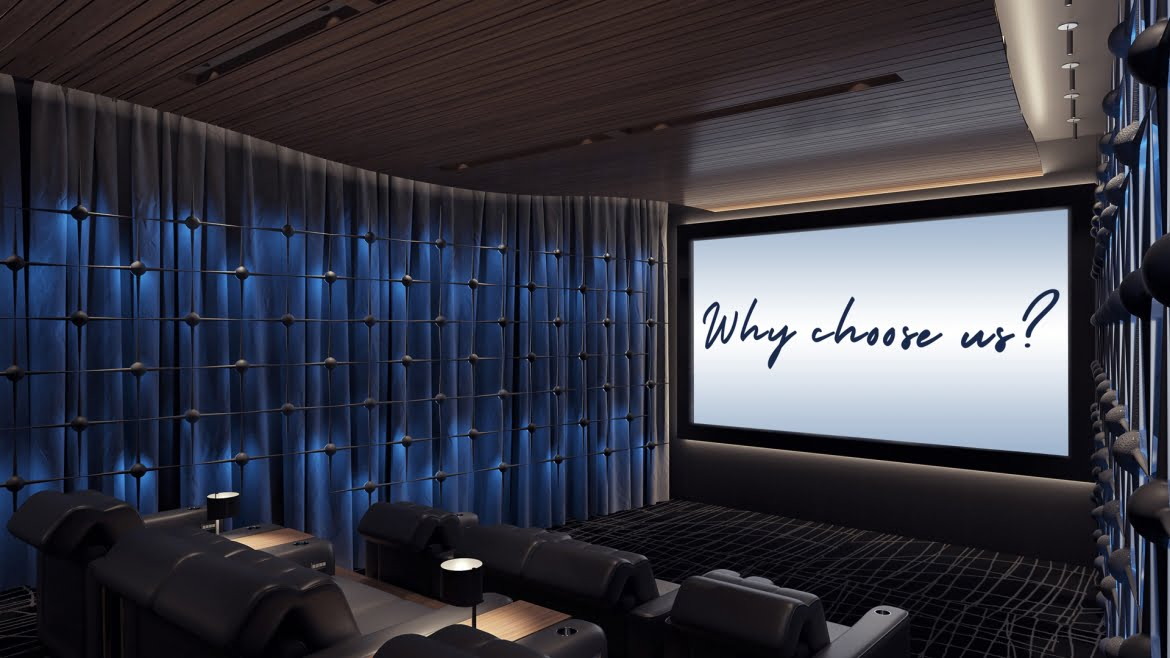 10 reasons you need Wavetrain Cinemas for your luxury home theatre